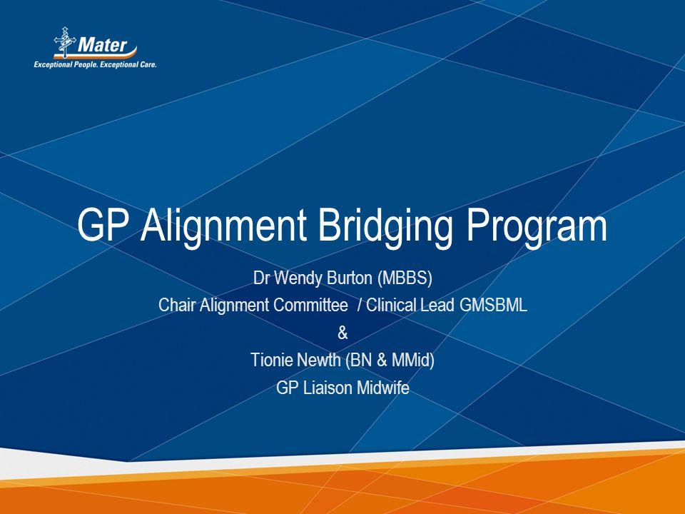 GP Alignment Bridging Program