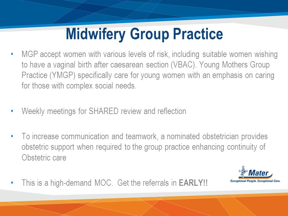 Midwifery Group Practice