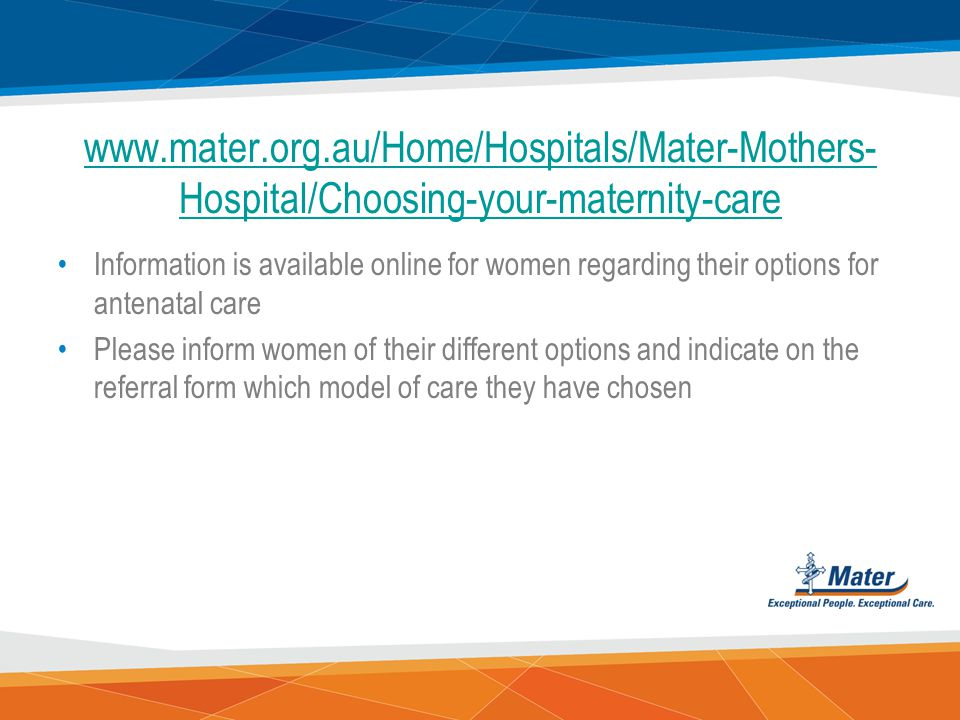 www.mater.org.au/Home/Hospitals/Mater-Mothers-Hospital/Choosing-your-maternity-care