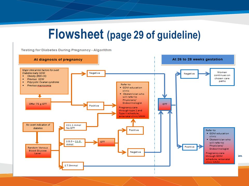 Flowsheet (page 29 of guideline)