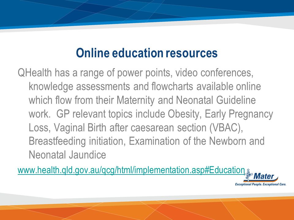 Online education resources