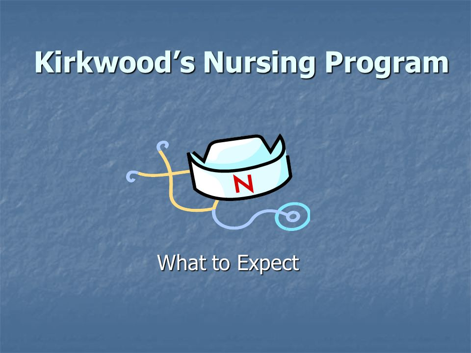 Kirkwood's Nursing Program