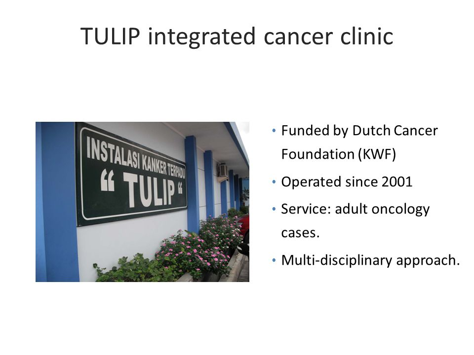 TULIP integrated cancer clinic
