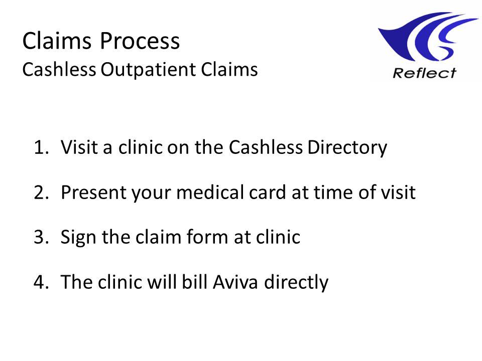 Claims Process Cashless Outpatient Claims