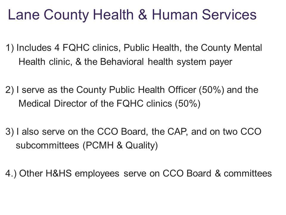 Lane County Health & Human Services