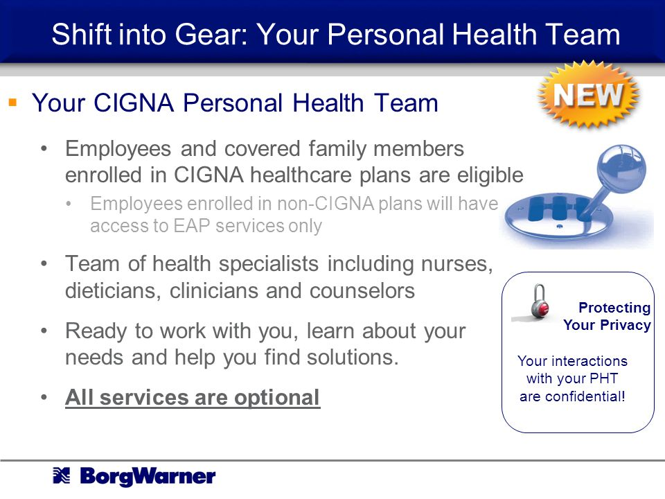 Shift into Gear: Your Personal Health Team