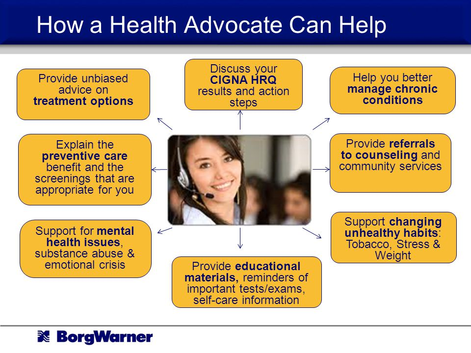 How a Health Advocate Can Help