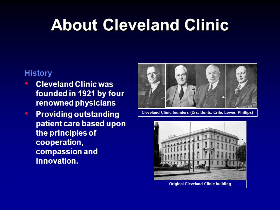 About Cleveland Clinic
