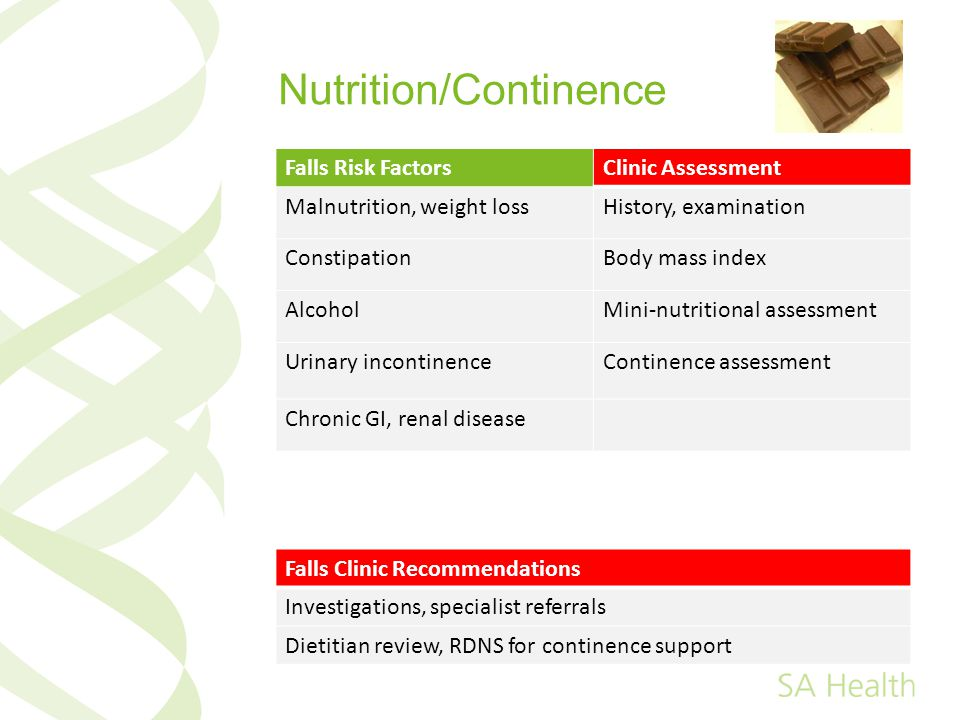 Nutrition/Continence