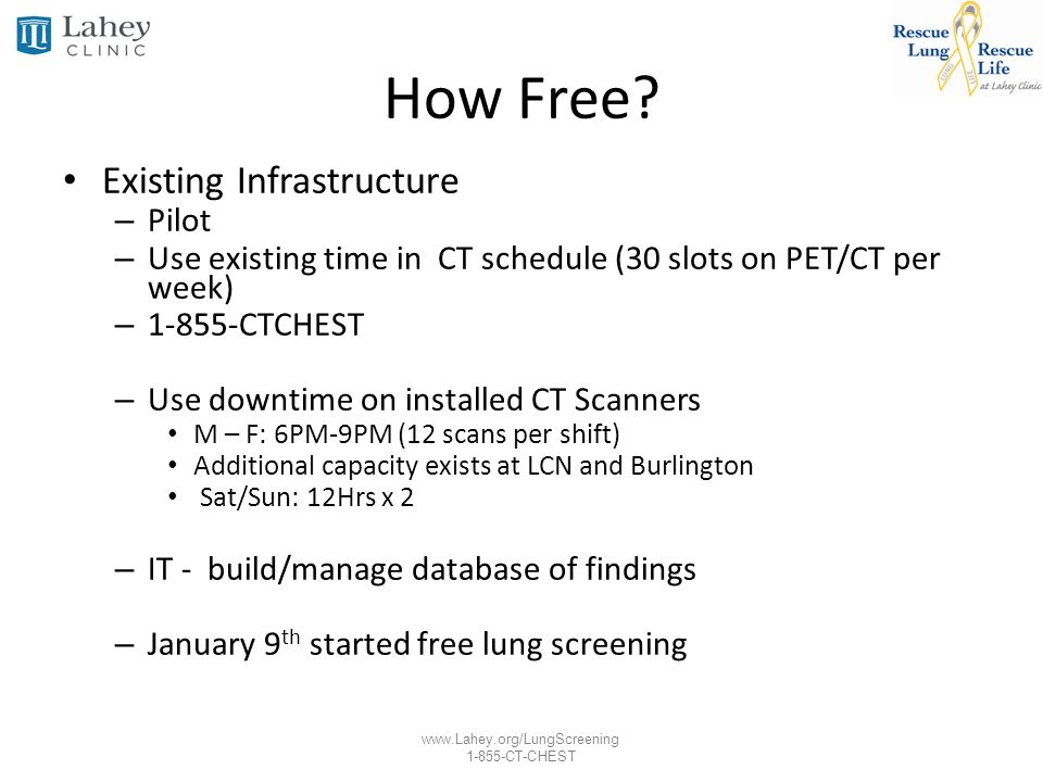 How Free Existing Infrastructure Pilot