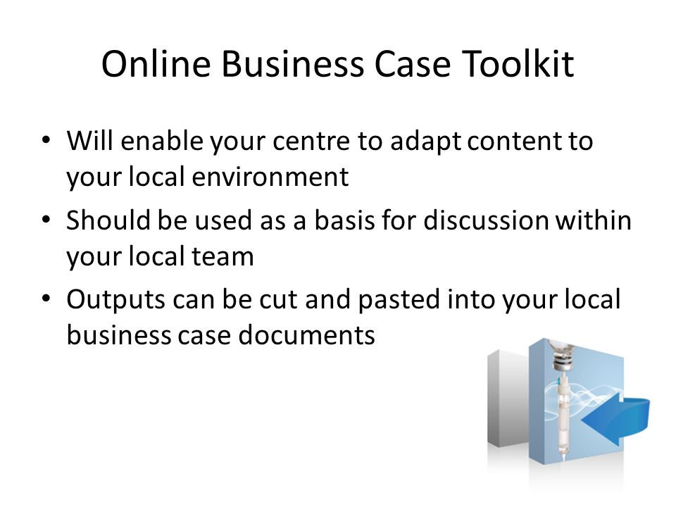 Online Business Case Toolkit