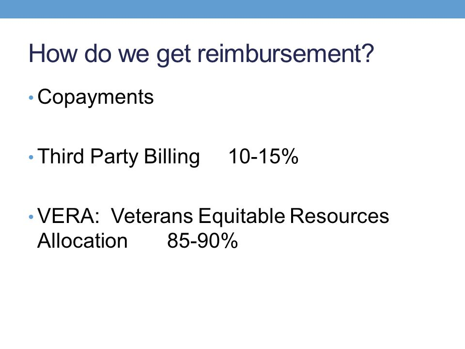 How do we get reimbursement
