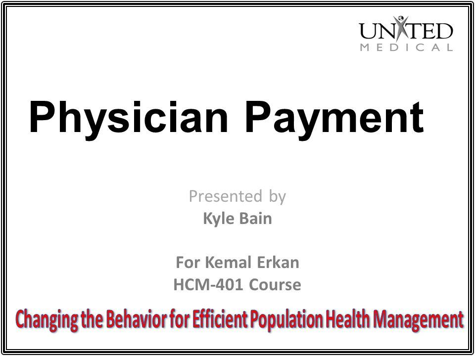 Changing the Behavior for Efficient Population Health Management