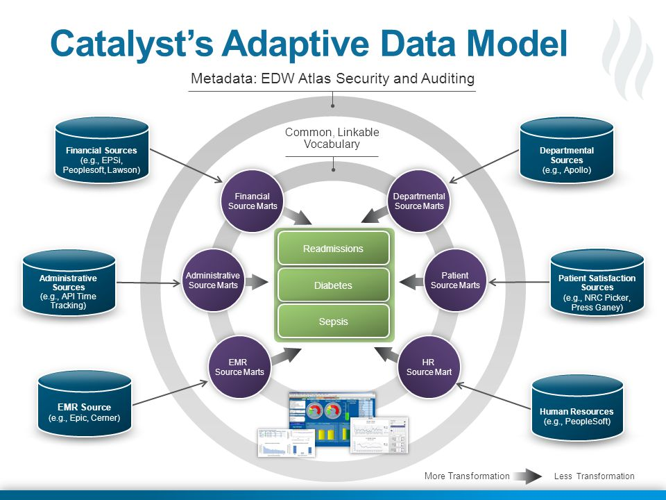 Catalyst's Adaptive Data Model