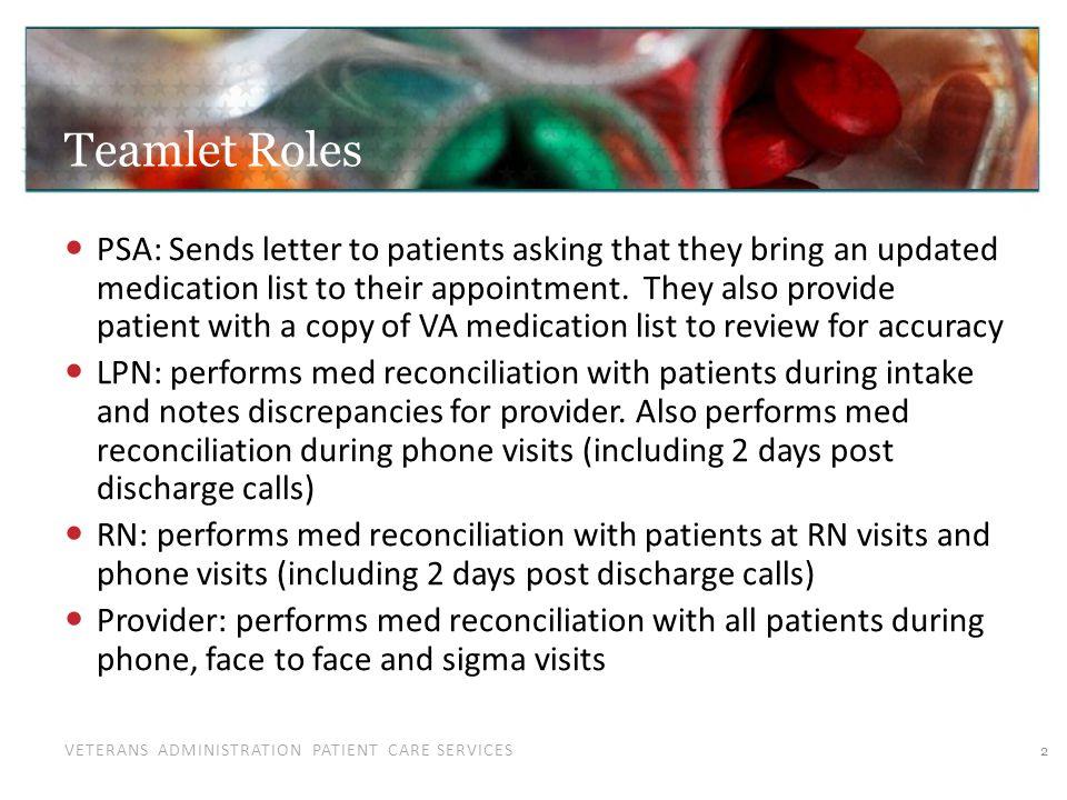 Letter Sent to Patients: