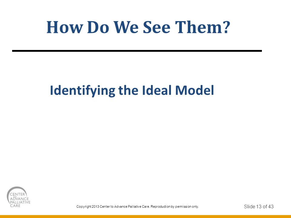 How Do We See Them Identifying the Ideal Model Slide 13 of 43