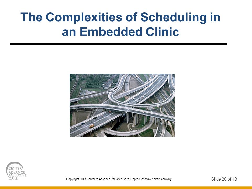 The Complexities of Scheduling in an Embedded Clinic