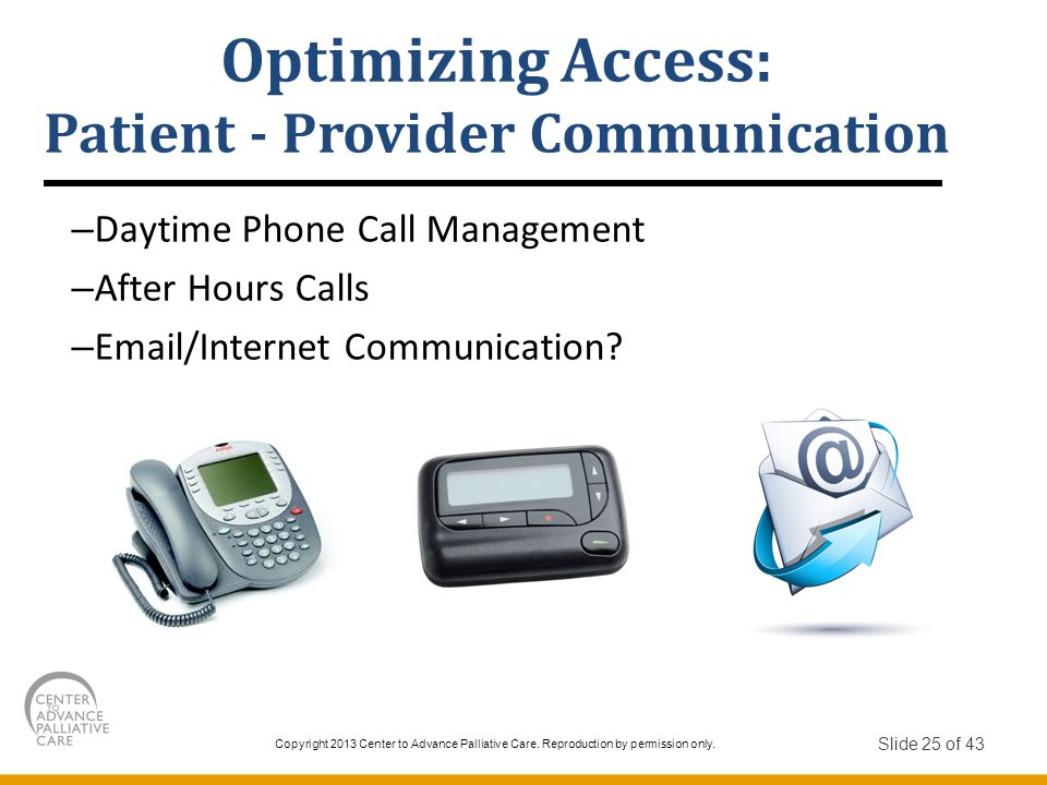 Patient - Provider Communication