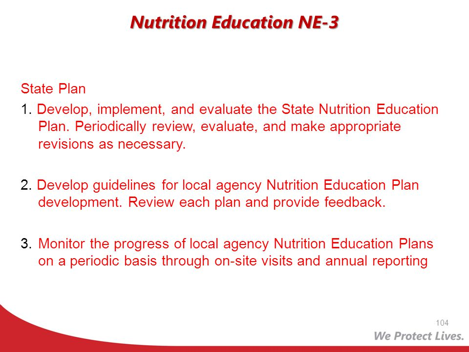 Nutrition Education NE-3