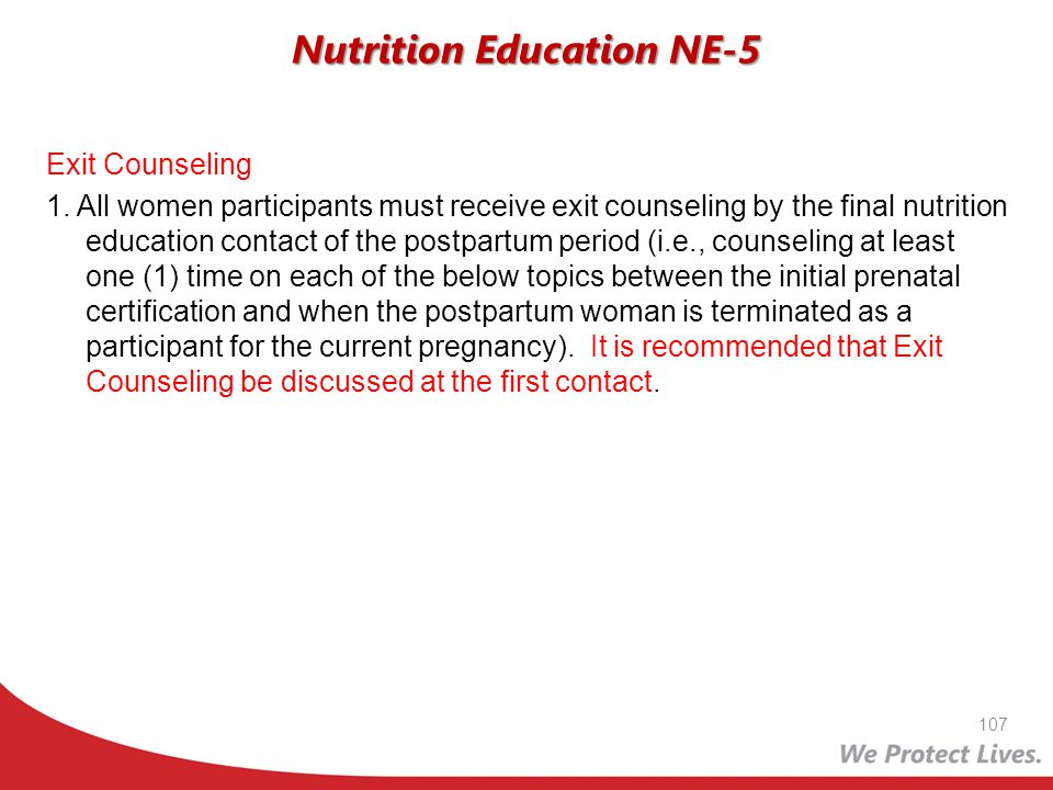 Nutrition Education NE-5
