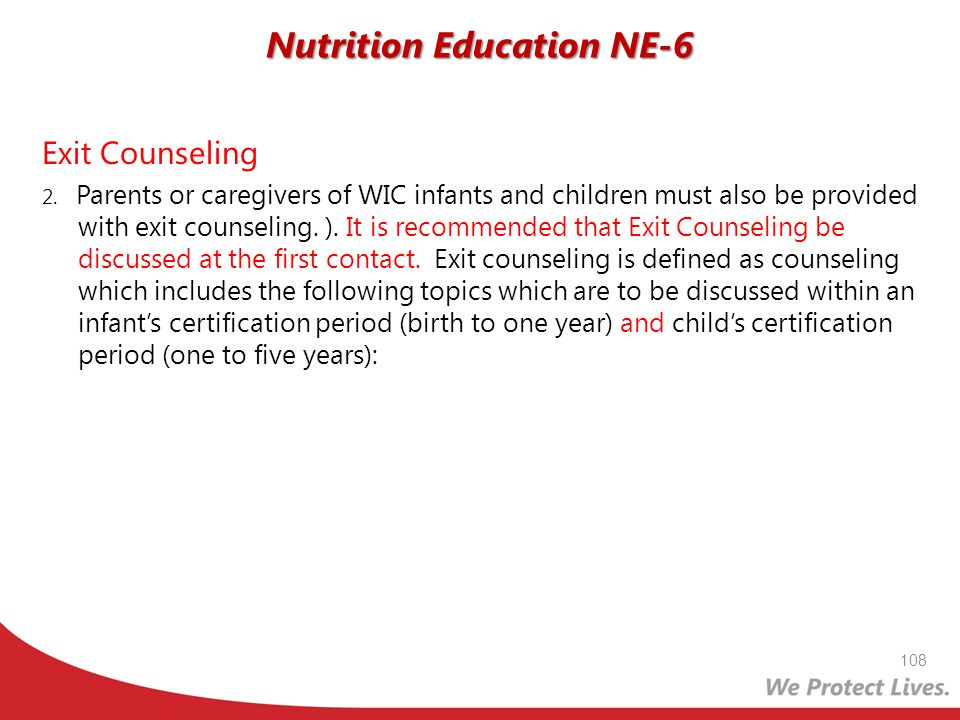 Nutrition Education NE-6