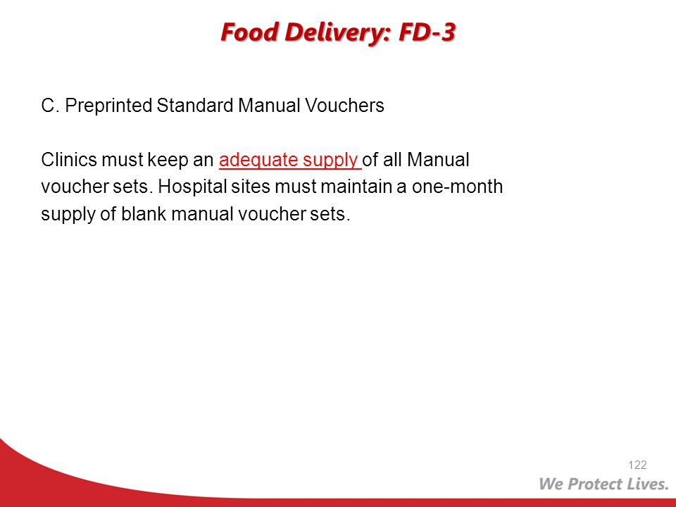 Food Delivery: FD-3