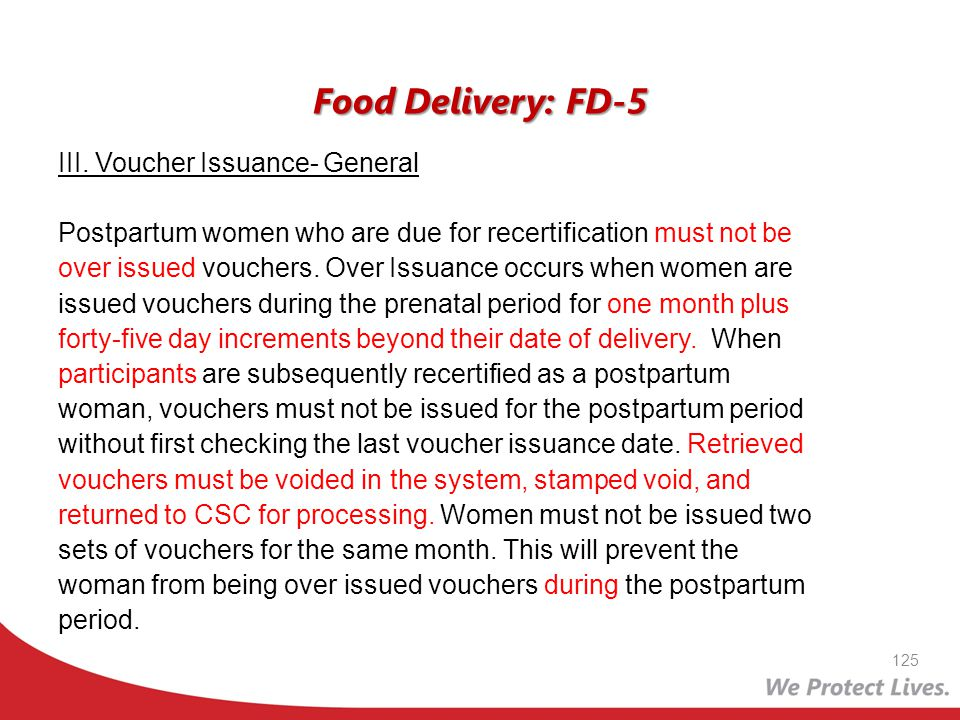 Food Delivery: FD-5
