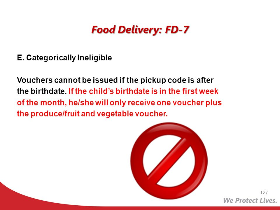 Food Delivery: FD-7