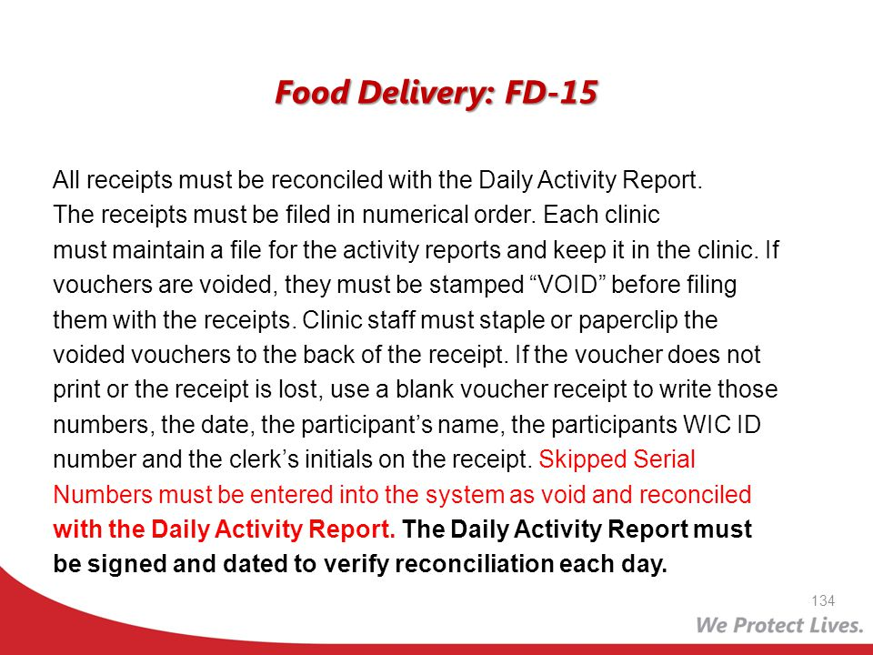 Food Delivery: FD-15