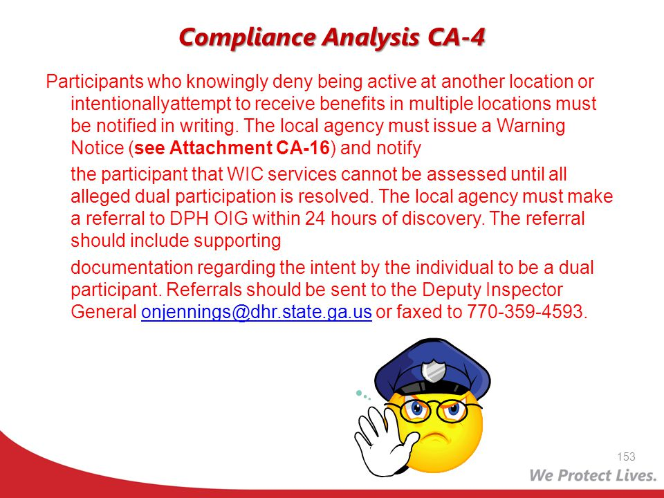 Compliance Analysis CA-4