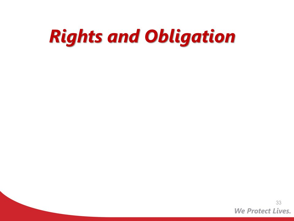 Rights and Obligation