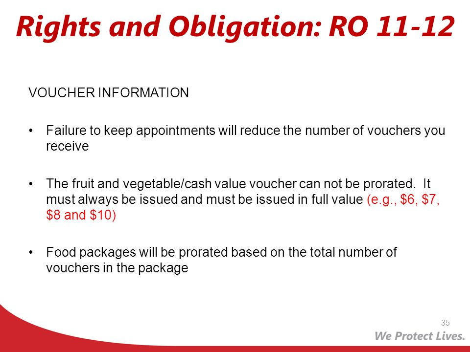 Rights and Obligation: RO 11-12