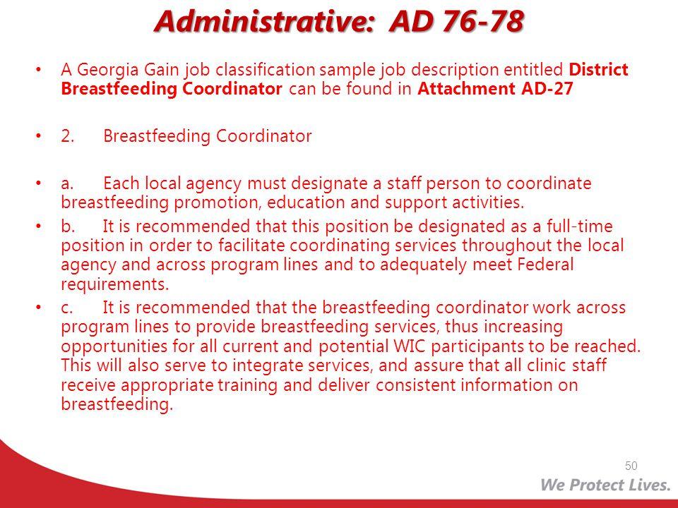 Administrative: AD 76-78