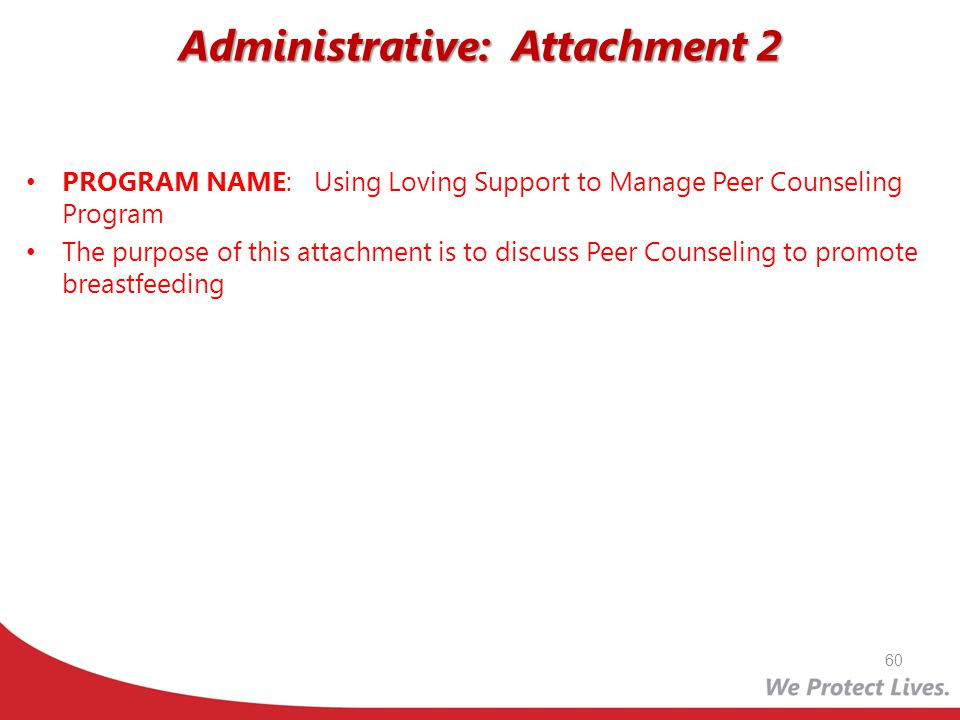 Administrative: Attachment 2
