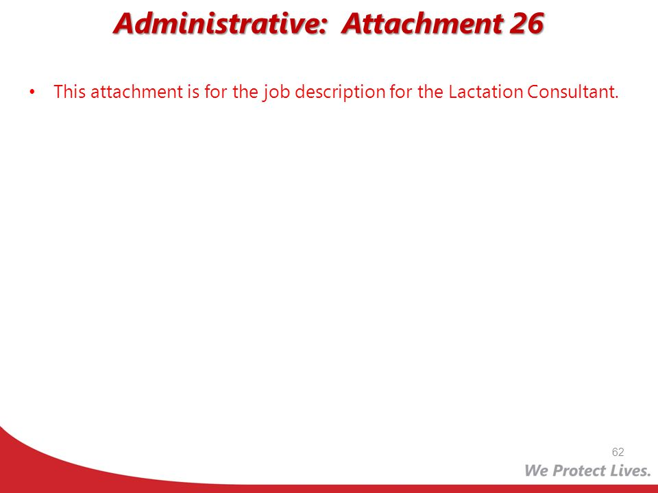 Administrative: Attachment 26