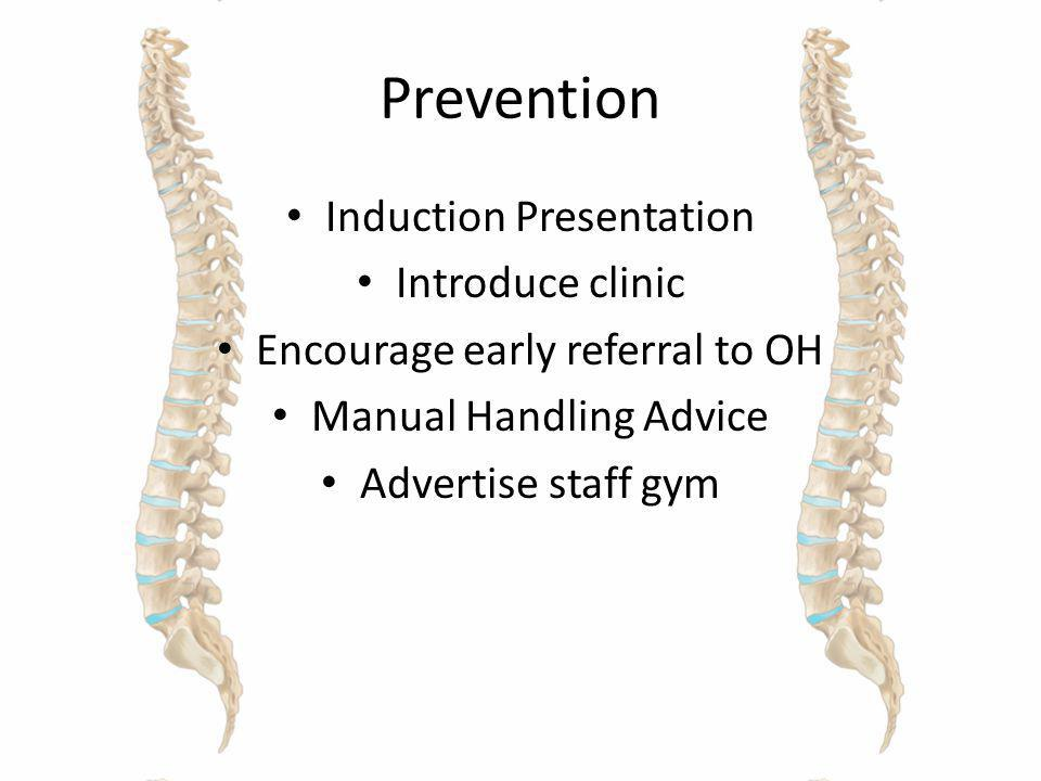 Prevention Induction Presentation Introduce clinic