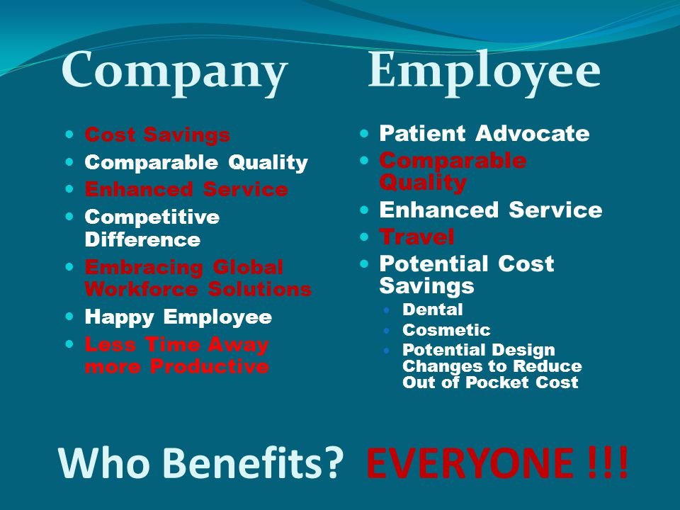 Company Employee Who Benefits EVERYONE !!! Patient Advocate