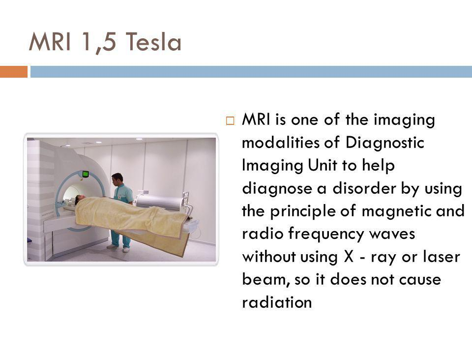 MRI 1,5 Tesla