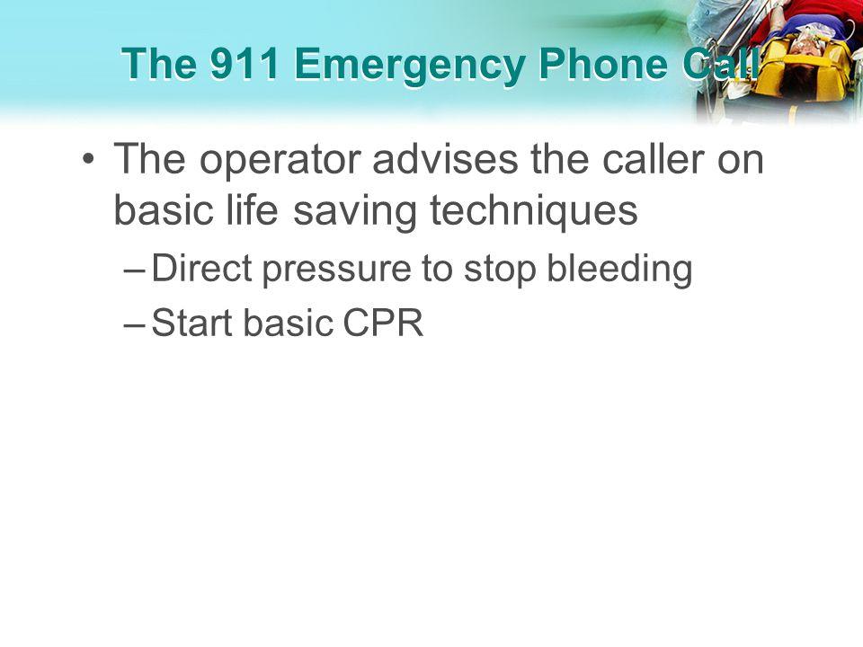 The 911 Emergency Phone Call