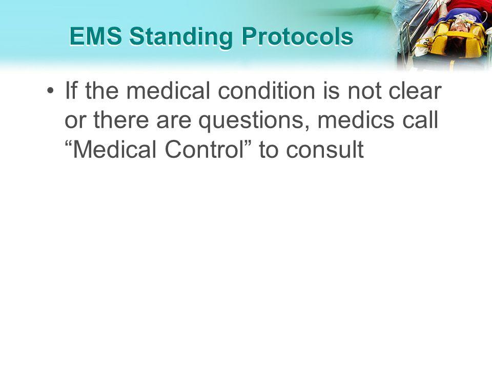 EMS Standing Protocols
