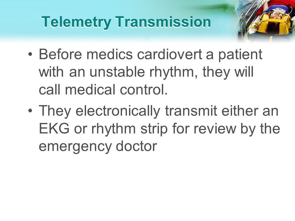 Telemetry Transmission