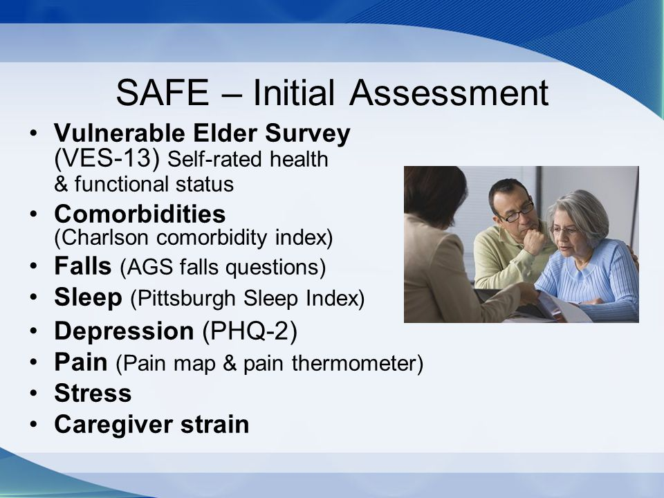 SAFE – Initial Assessment