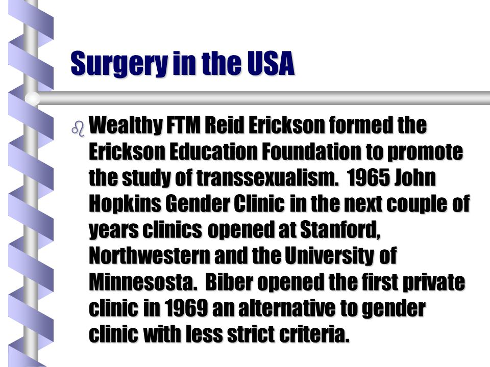 Surgery in the USA