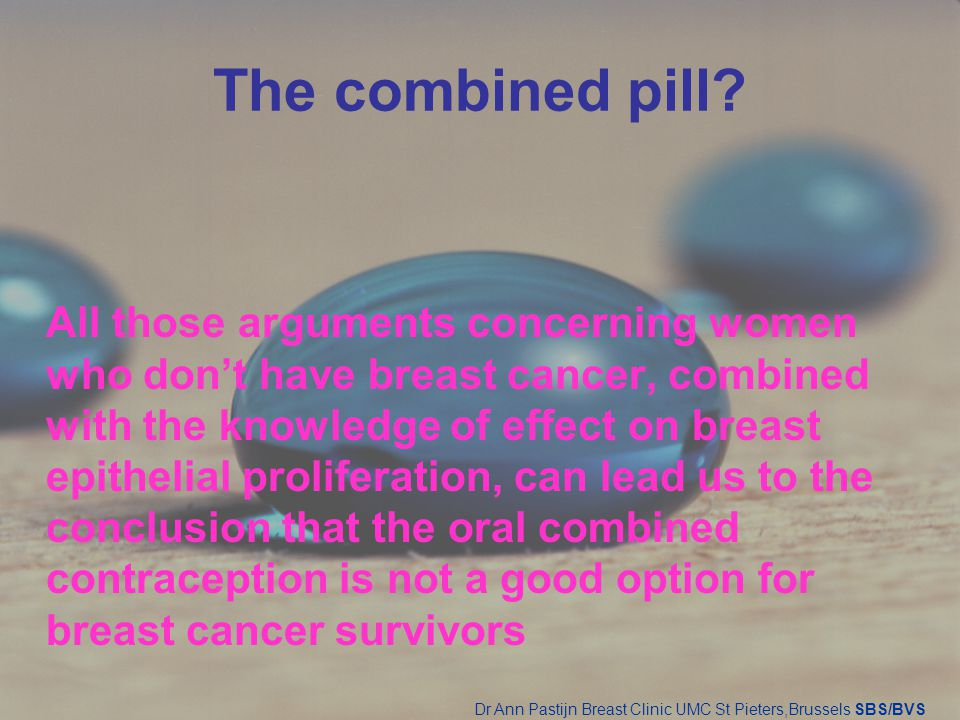 The combined pill