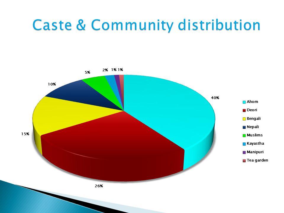 Caste & Community distribution