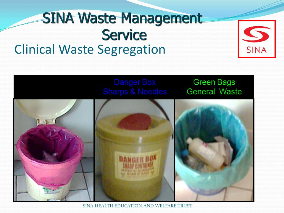 Clinical Waste Segregation