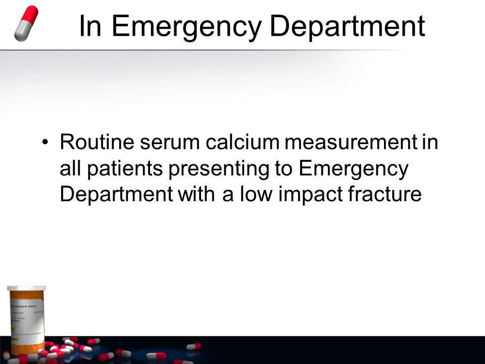 In Emergency Department