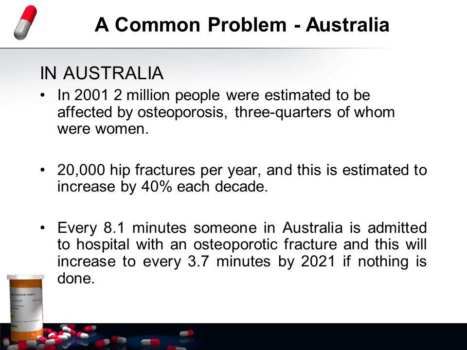 A Common Problem - Australia