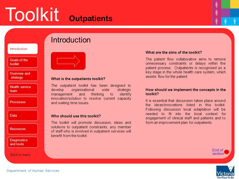 Introduction What are the aims of the toolkit