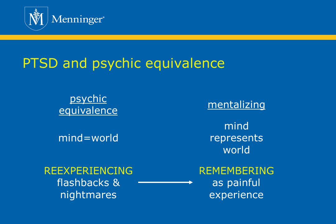 PTSD and psychic equivalence